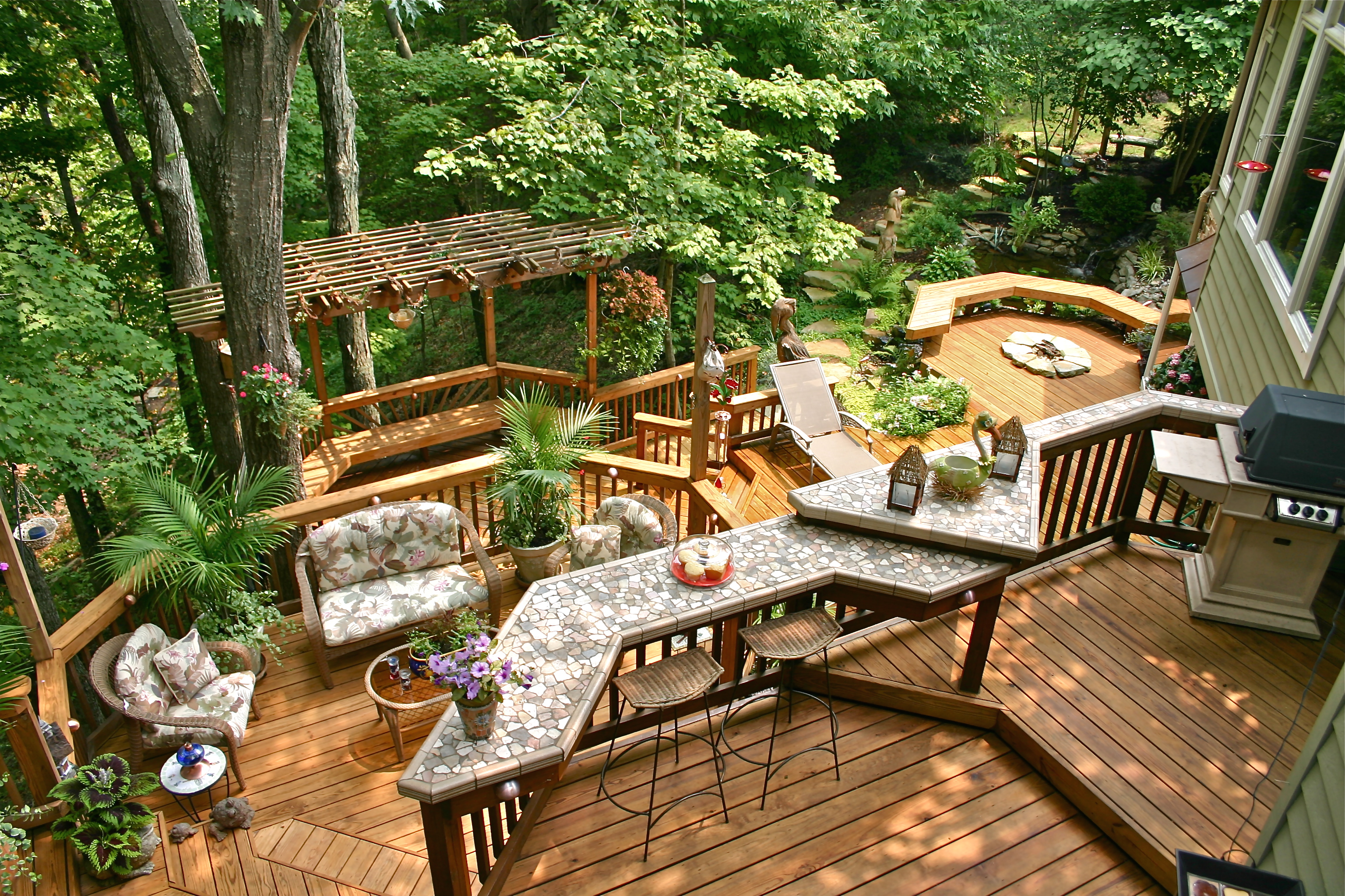 American Deck & Sunroom: Deck Maintenance - Care & Feeding ...