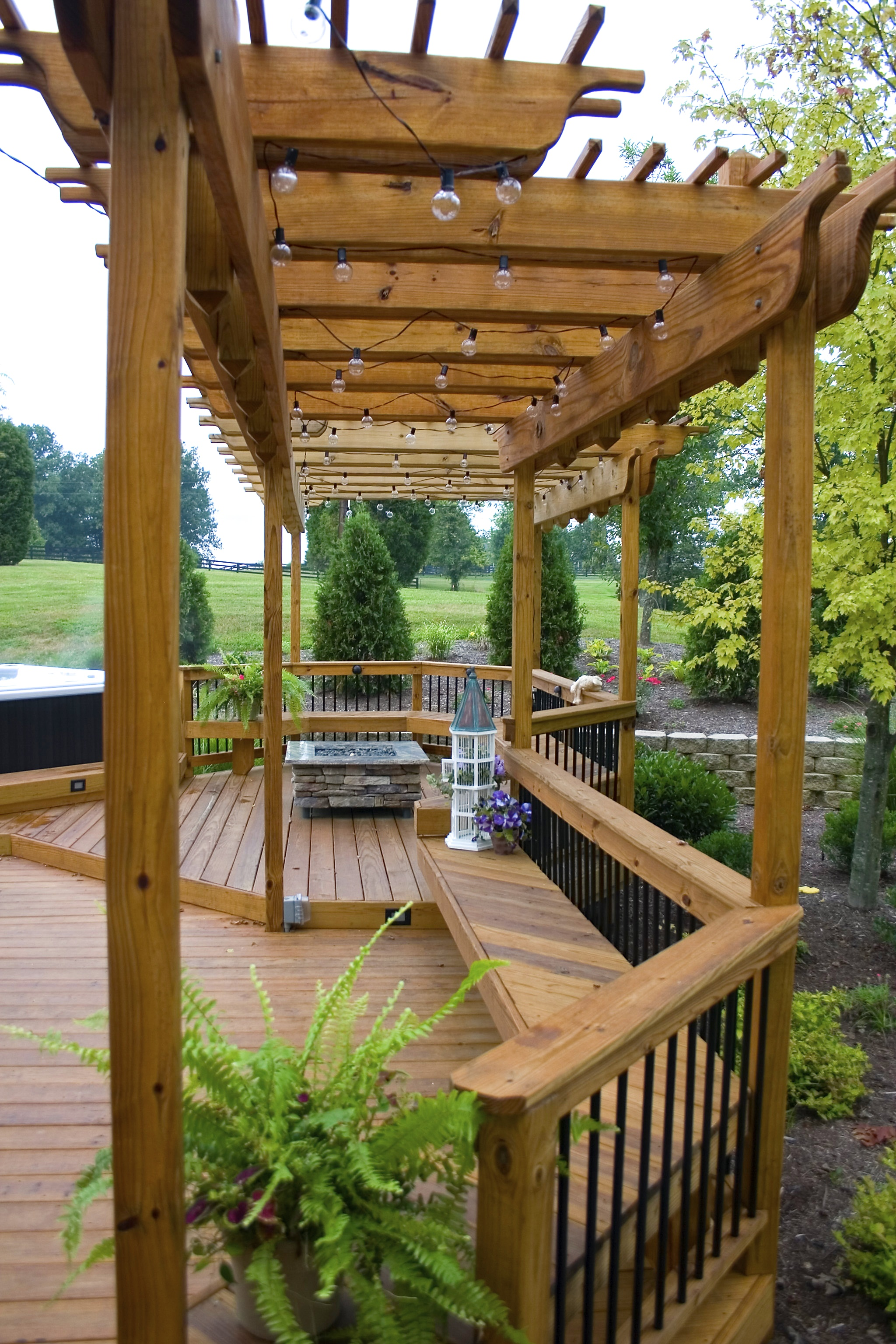 Deck designs with hot tub joy studio design gallery for Pool designs lexington ky