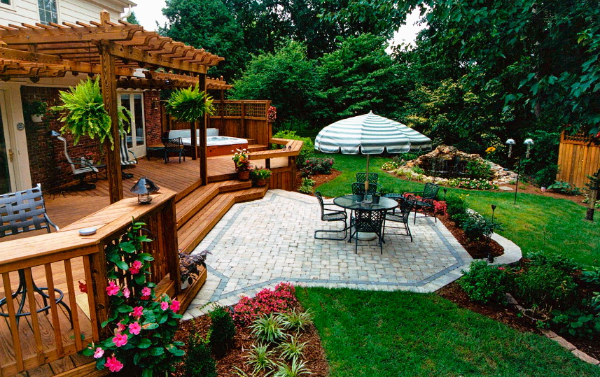 Custom Patios In Lexington Amp Louisville Ky American Deck