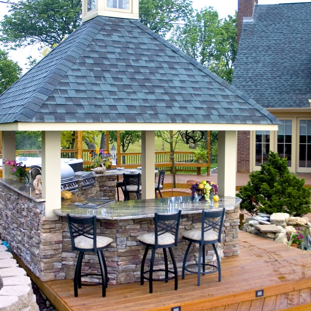 Take your dinner party outside with Outdoor Kitchens! - American ...