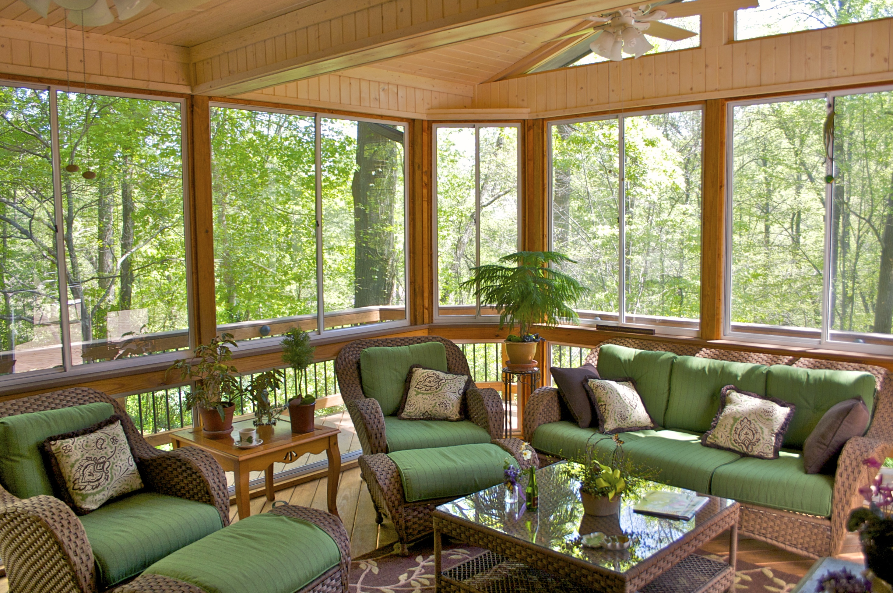Porch Vs Deck Which Is The More Befitting For Your Home: Custom Sunrooms Vs Screened Rooms By American Deck