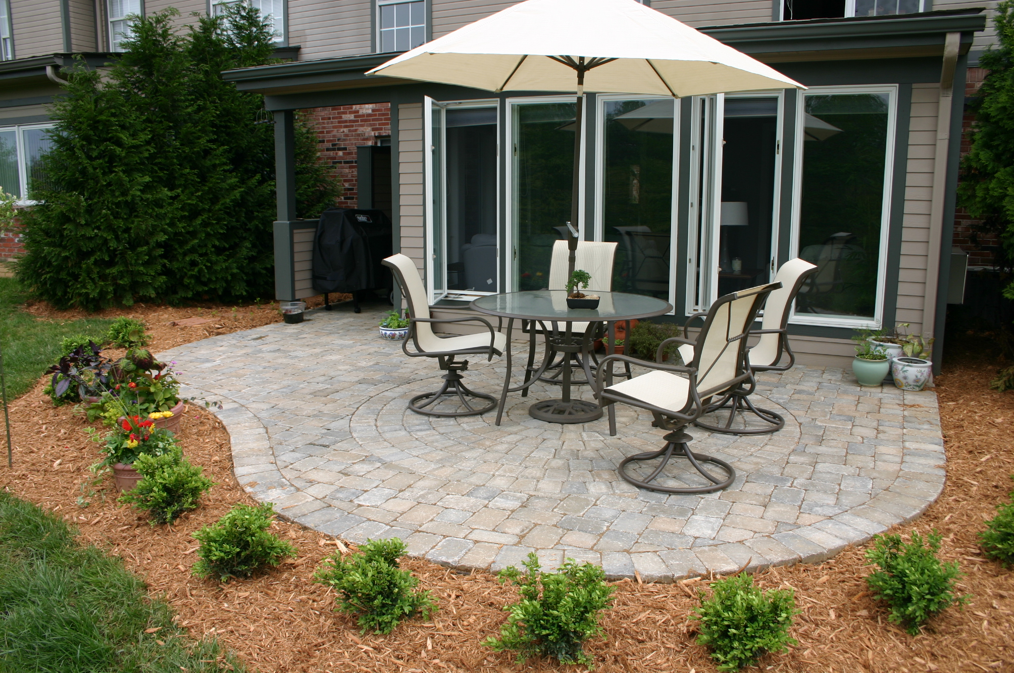 Paver patios in lexington louisville ky from american for Pool designs lexington ky