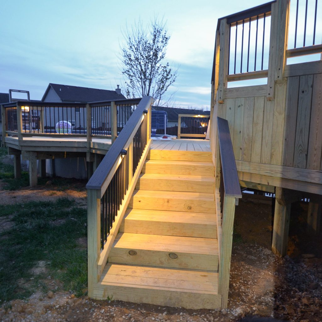 Take The Next Step With Custom Deck Stairs