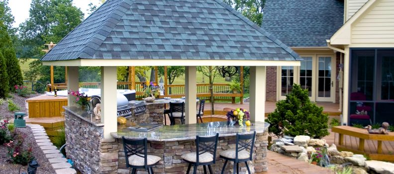 Custom Outdoor Kitchens by American Deck & Sunroom