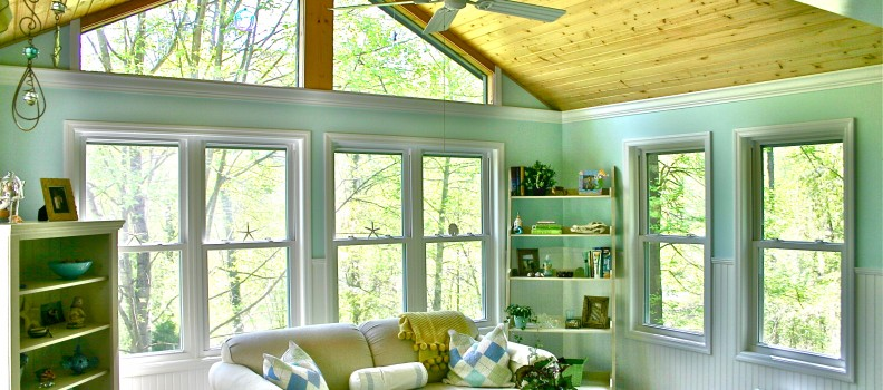 A Perfect Lexington Sunroom by American Deck & Sunroom