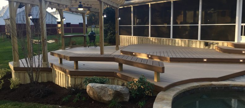 Garden Benches by American Deck & Sunroom