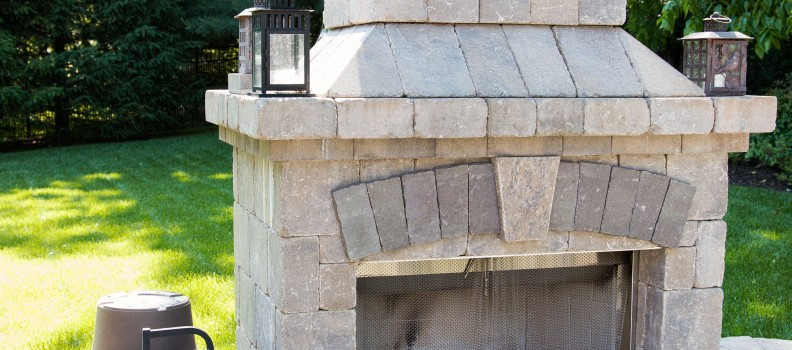 Outdoor Fireplaces in Kentucky by American Deck & Sunroom