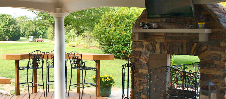 Custom Fire Pits and Fireplaces in Lexington & Louisville, KY by American Deck & Sunroom